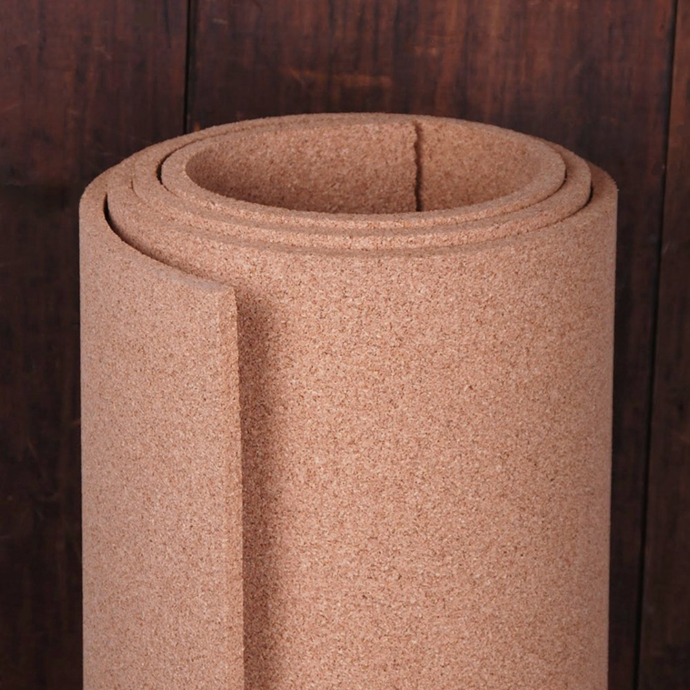 Natural Cork Roll 4' x 8' x 1/2'' - Thickest available