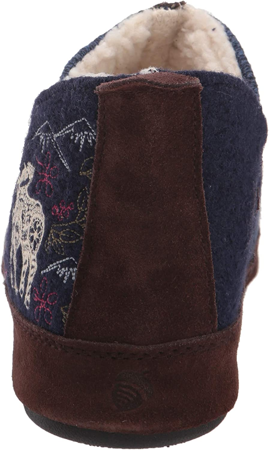 Acorn Women's Slipper Navy Blue Mouse