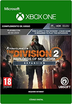 Tom Clancys The Division 2: Warlords of New York Expansion| Xbox ...