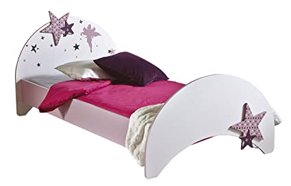 Bilira Kids Jugendbett Kinderbett Kinderzimmer Betten Madchen Bettgestell Jugendzimmer Kindermobel Prinzessin Sofabett 90x200 Rosa