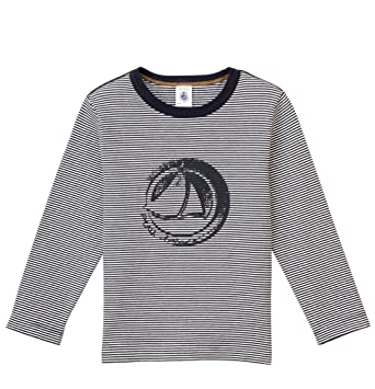 6dbfec22063ca Amazon.com: Petit Bateau Boys Tee 11074-10: Clothing