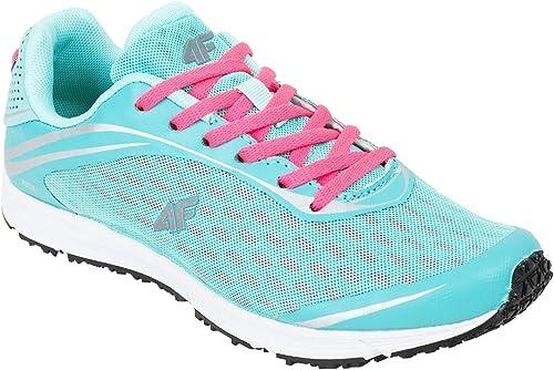 4F Tropical Fusion Zapatillas de Running para Mujer, Color Turquesa, Talla 38: Amazon.es: Zapatos y complementos