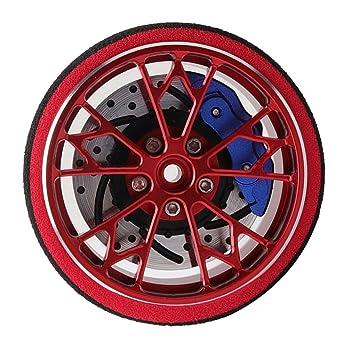 Baoblaze Metall Contrl Hand Wheel Handrad Metall f/ür Sanwa M11 X Mt4 4 S RC Auto Rot