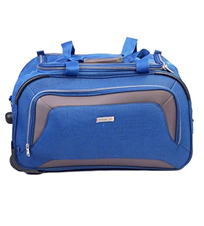 Aristocrat Polyester 67 cms Blue Travel Duffle (DFTCRA67BLU)  Amazon.in   Bags 0a26049695d23