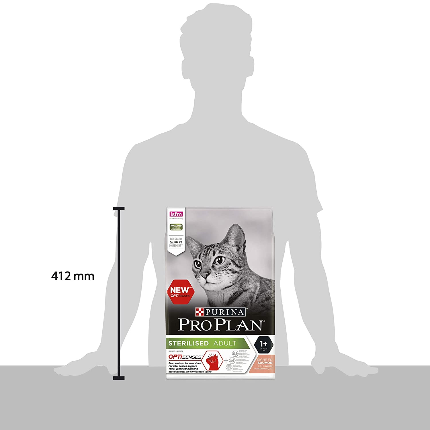 Amazon.com : PRO PLAN Cat STERILISED with OPTIRENAL Rich in ...
