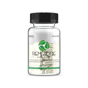 Amazon.com: Ultimate Nutrition REM Zone Sleep Aid with Melatonin ...