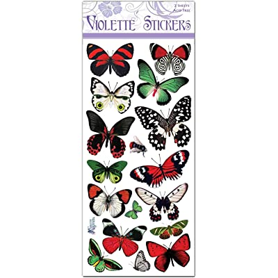 Violette Stickers Holiday Butterflies: Arts, Crafts & Sewing