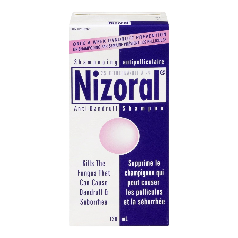 Nizoral Ketoconazole 2 Percent Anti-dandruff and Itchy Scalp Shampoo, 120ml Neutrogena