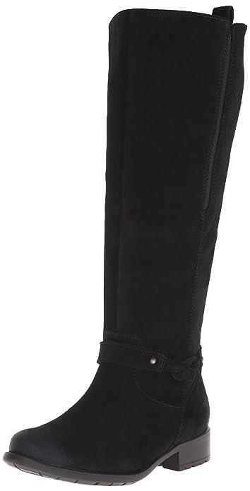 clarks wide leg knee high boots