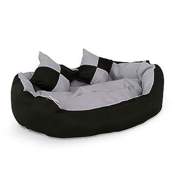Amazon.com: dibea perro cama caliente cesta cushio almohada ...