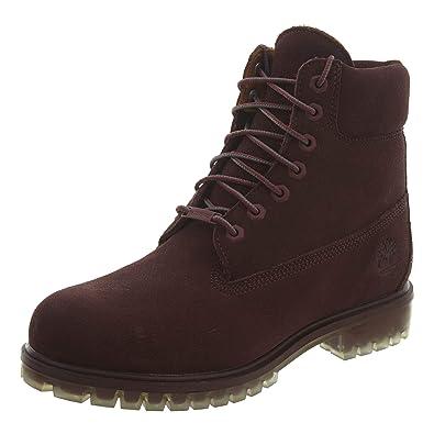 Timberland 6 Inch Men s Premium Suede Boots Red tb0a18qb (8 D(M) US 2e2208de3