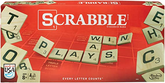 Scrabble Crossword Game by Hasbro: Amazon.es: Juguetes y juegos