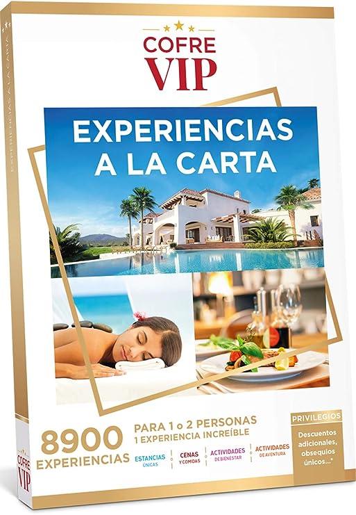 CofreVIP Caja Regalo EXPERIENCIAS A LA Carta 8.900 Actividades a Elegir en España y Europa para 1 o 2 Personas.: Amazon.es: Jardín