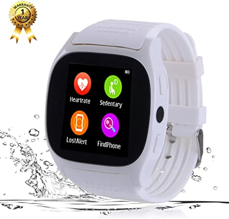 Smart Watch Phone Watch Bluetooth Smartwatch Fitness Tracker Blood Pressure Heart Rate Sleep Monitor Smart Wrist Watch All Functions Match for IOS ...