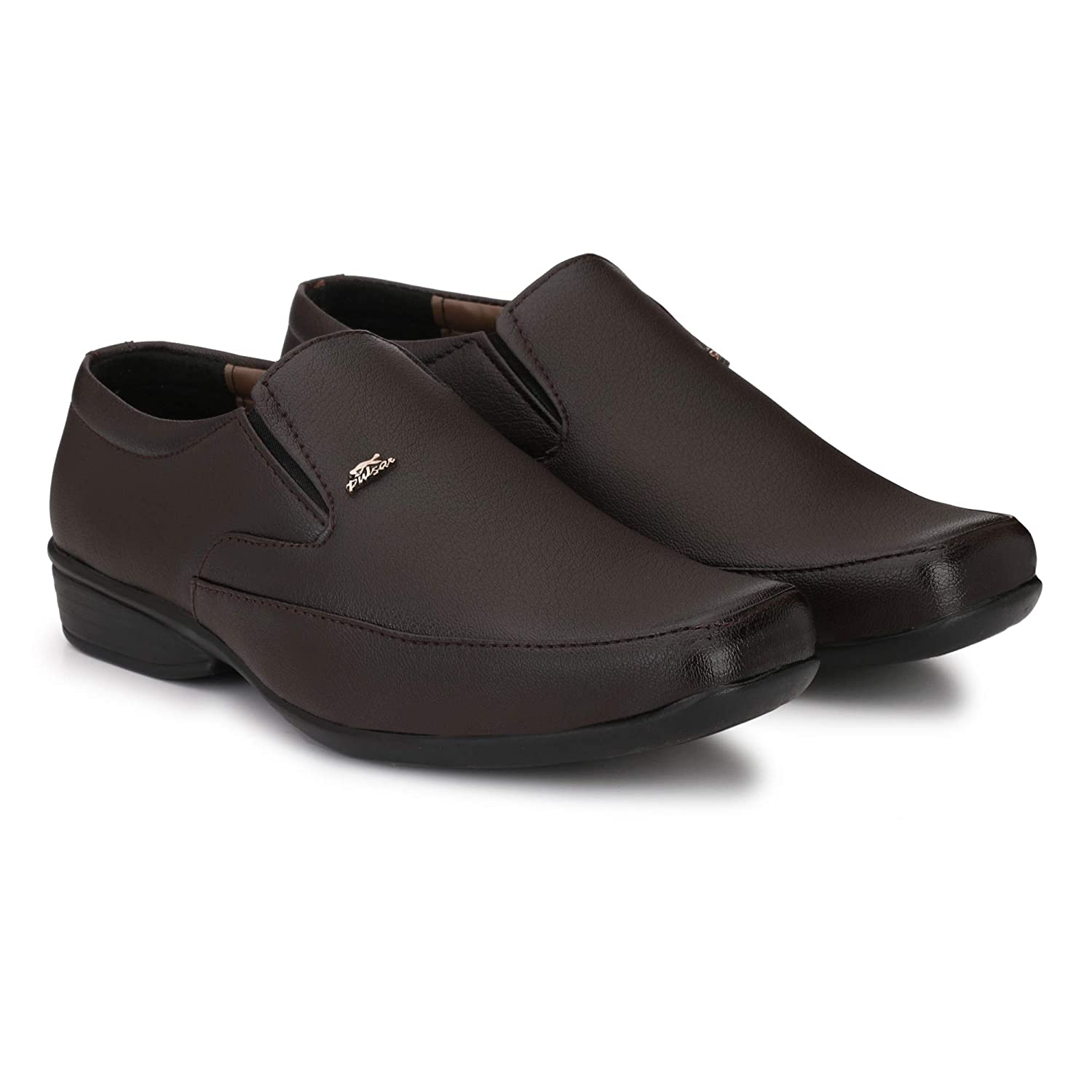 Stylelure Synthetic Leather Black Formal Shoes For Men Best For