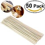 ULTNICE 50pcs Rattan Reed Sticks con diffusore di olio