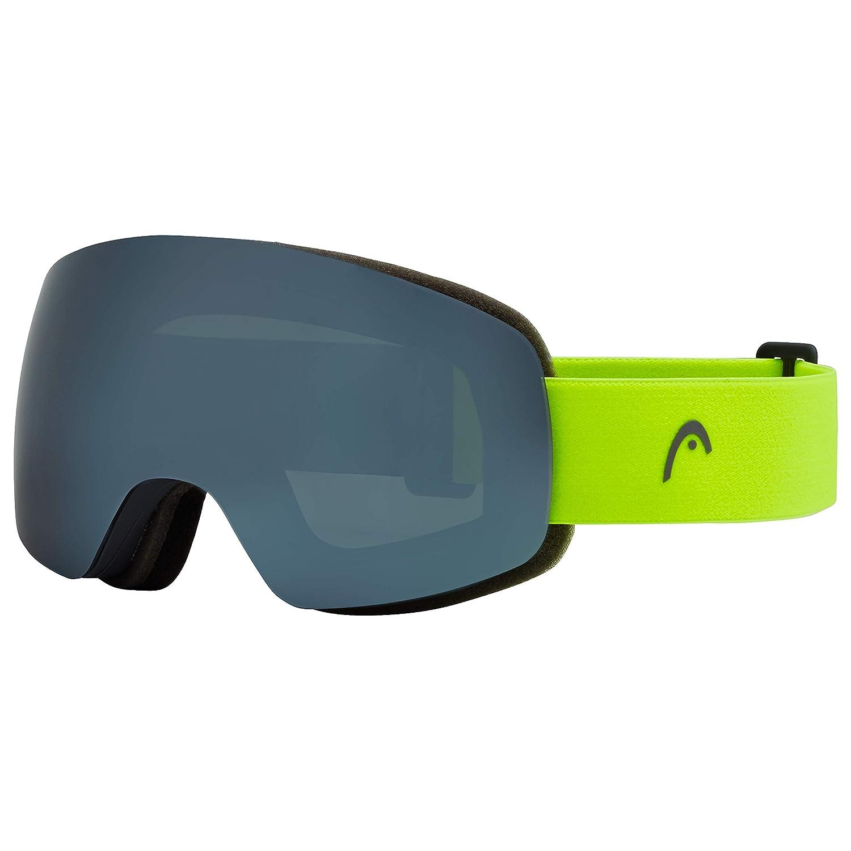 HEAD Herren Globe-fire Spiegel Ski/Snowboard Goggle, Silber, one Size