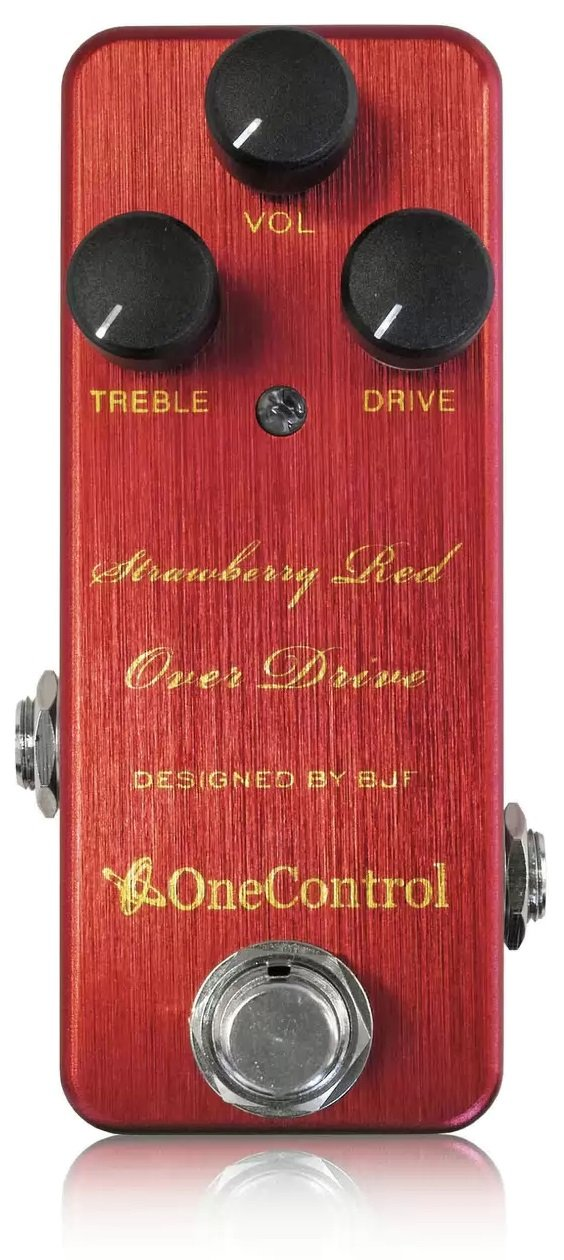 One Control ワンコントロール エフェクター オーバードライブ Strawberry Red Over Drive   B00M1AD0AO