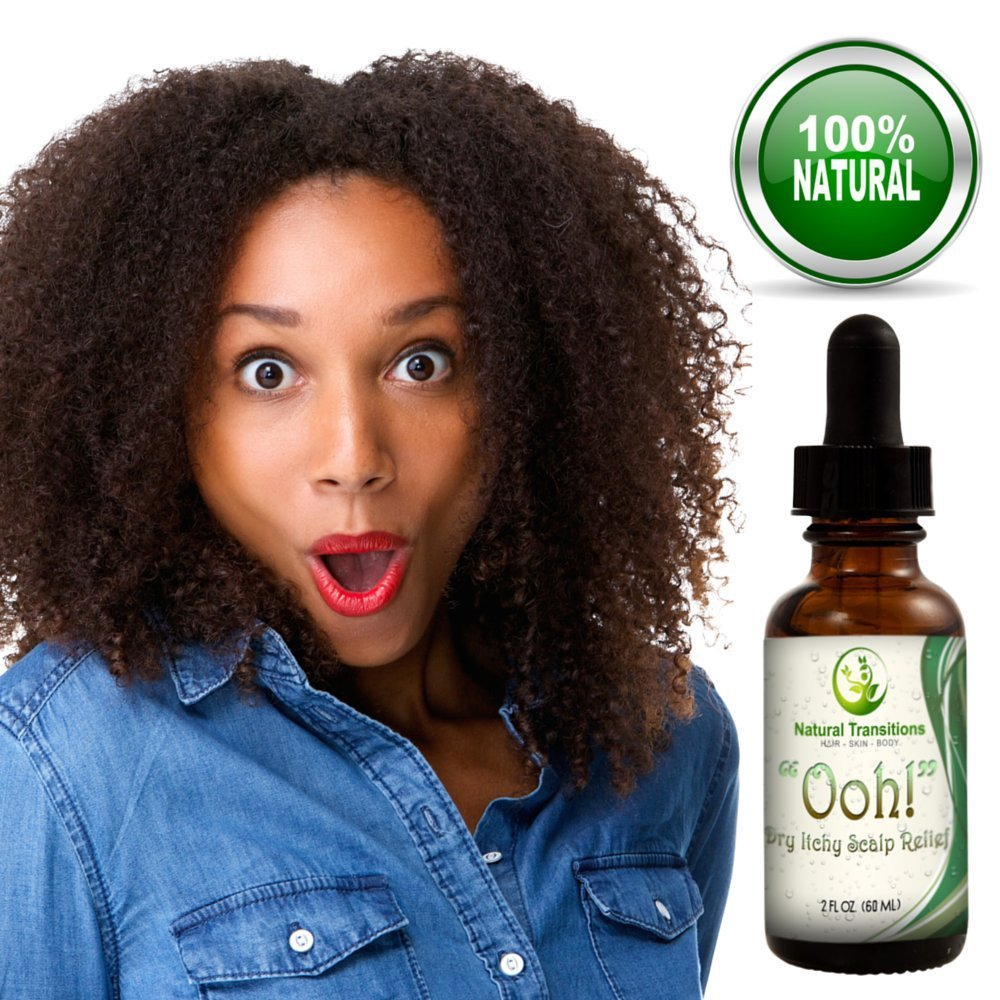 Amazon Ooh Dry Itchy Scalp Relief An All Natural Vegan