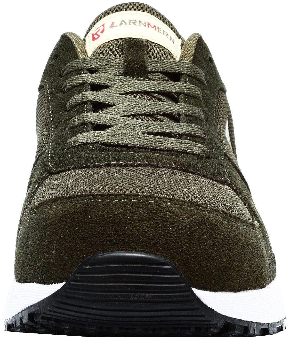 Calzado de Industrial y Deportiva LARNMERN Zapatos de Seguridad para Hombre con Puntera de Acero Zapatillas de Seguridad Trabajo