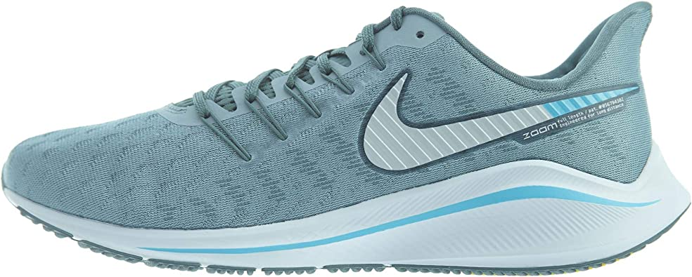 Nike Air Zoom Vomero 14, Zapatillas de Entrenamiento para Hombre, Azul (Aviator Grey/Pure Platinum/Blue Fury 002), 45 EU: Amazon.es: Zapatos y complementos
