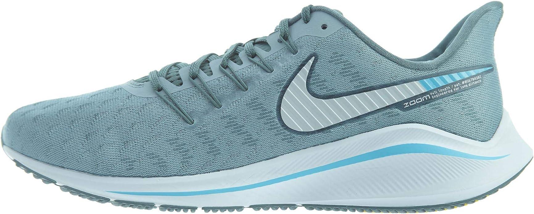 Nike Air Zoom Vomero 14, Zapatillas de Entrenamiento para Hombre, Azul (Aviator Grey/Pure Platinum/Blue Fury 002), 45 EU: Amazon.es: Zapatos y complementos