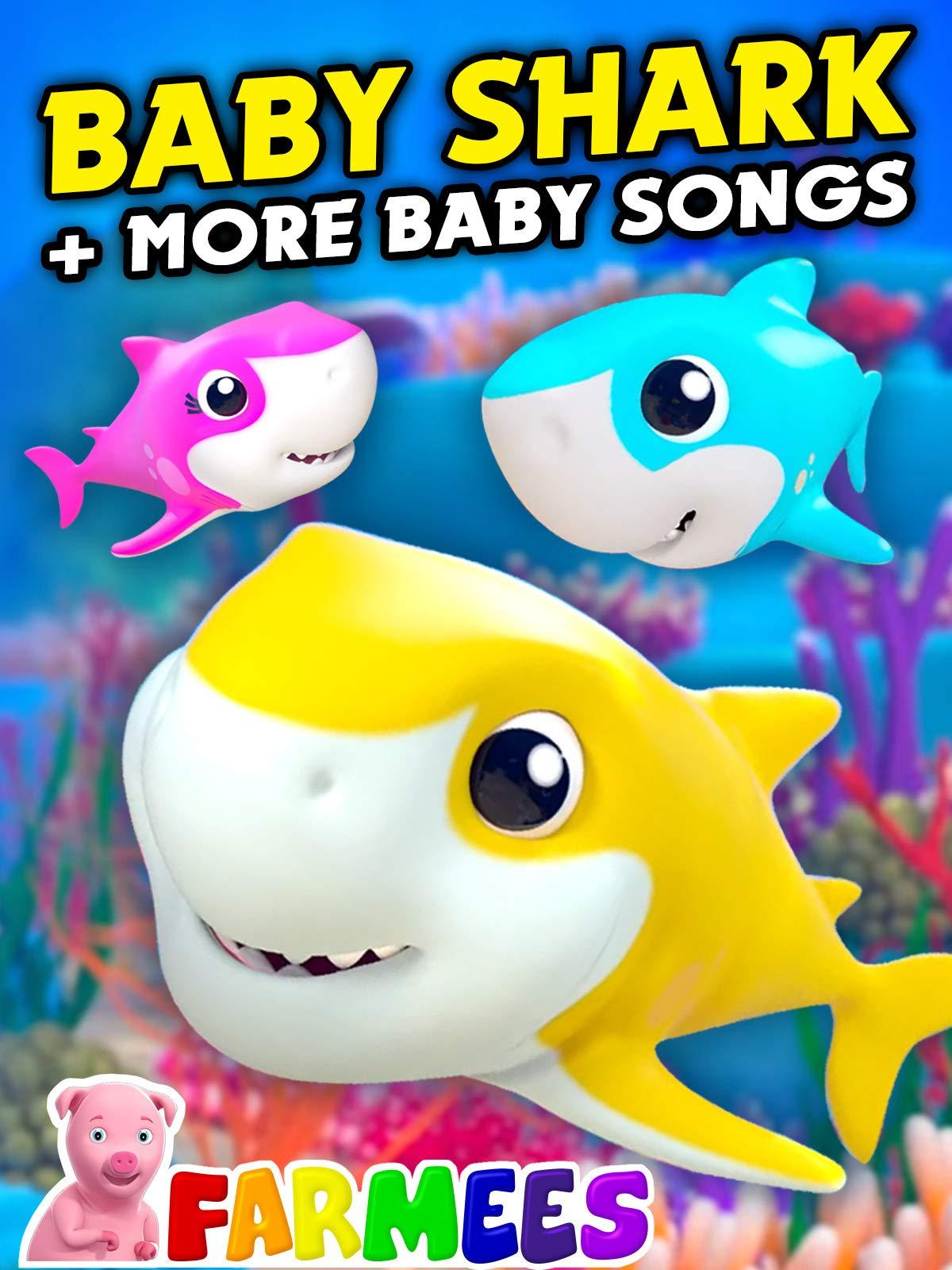 Baby Shark + More Baby Songs - Farmees