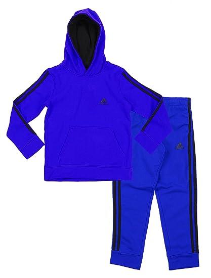 457ddc86cb21 Amazon.com  adidas Youth Big Boys Game Time Hoodie and Pants Set ...