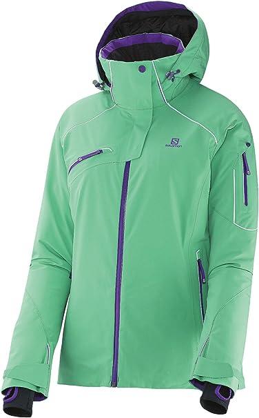 SALOMON Damen Speed Jacket XL Cascade Green: VUYbh