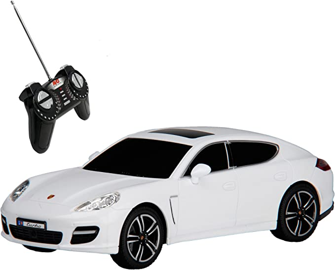 Rc Model Car Porsche Panamera Turbo 1 18 Radio Remote Control Rc Helicopter With Light White Spielzeug