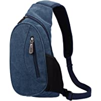 OUTRY Canvas Sling Shoulder Day Bag