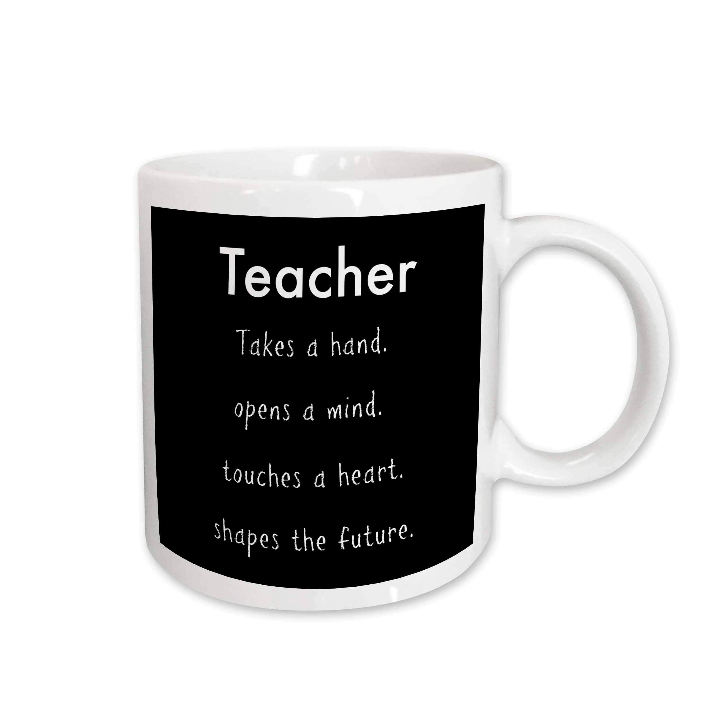 Galleon - 3dRose Jacoba School Quotes - Teacher Takes A Hand