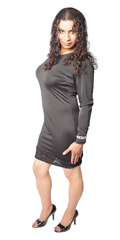 Amazon Crossdresser Crossdressing Dress Black Dress With Lace