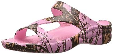 a3082d46c59 DAWGS Women s Mossy Oak Z Sandals - Breakup Infinity Pink