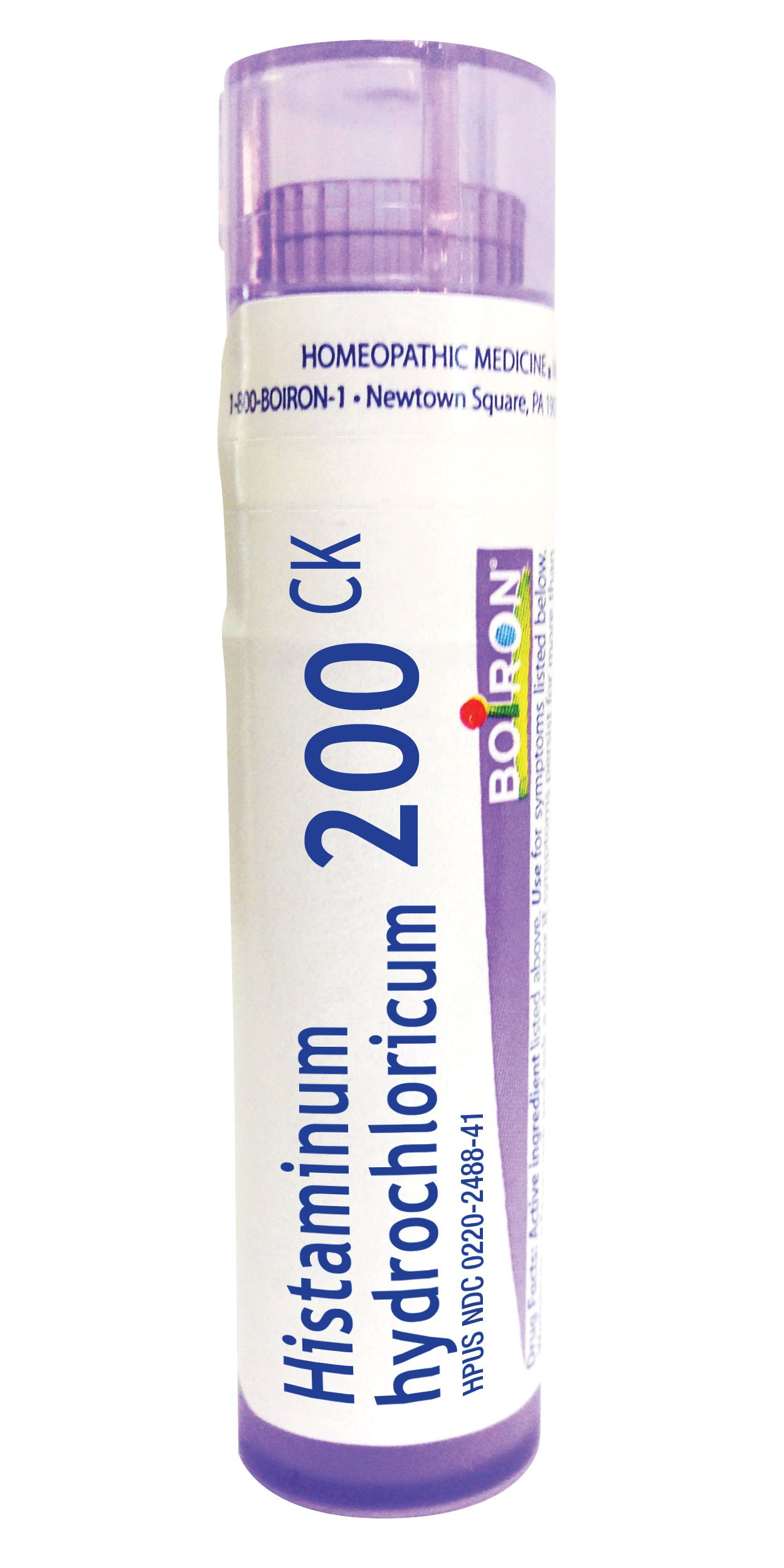 Boiron Histaminum Hydrochloricum 200C, 80 Pellets, Homeopathic Medicine for Allergy Relief