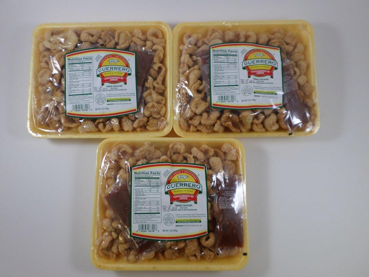 Guerrero Chicharron de Cerdo - Tender Cracklings with Salsa ...