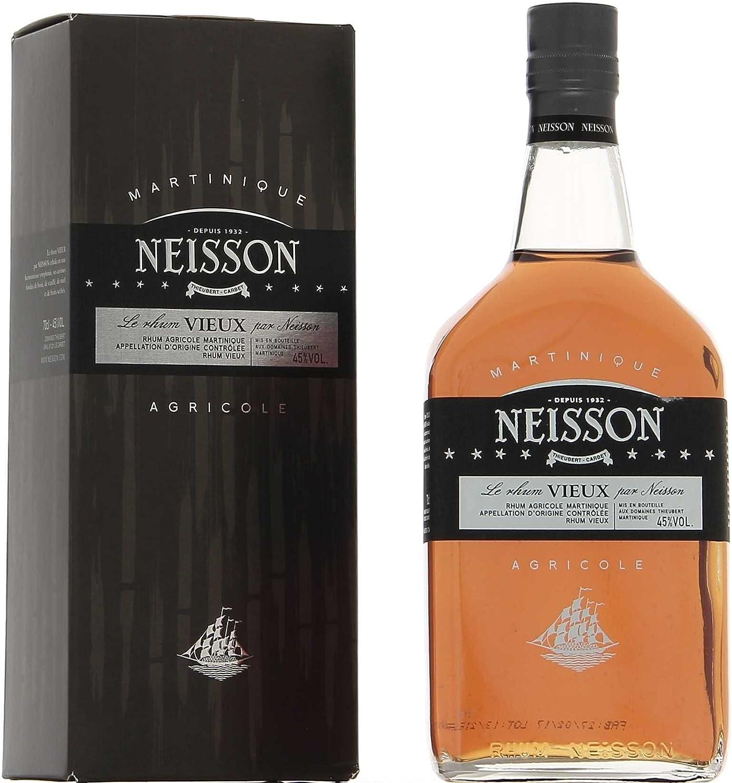 NEISSON VIEUX RUM 45% 70 CL: Amazon.es: Alimentación y bebidas