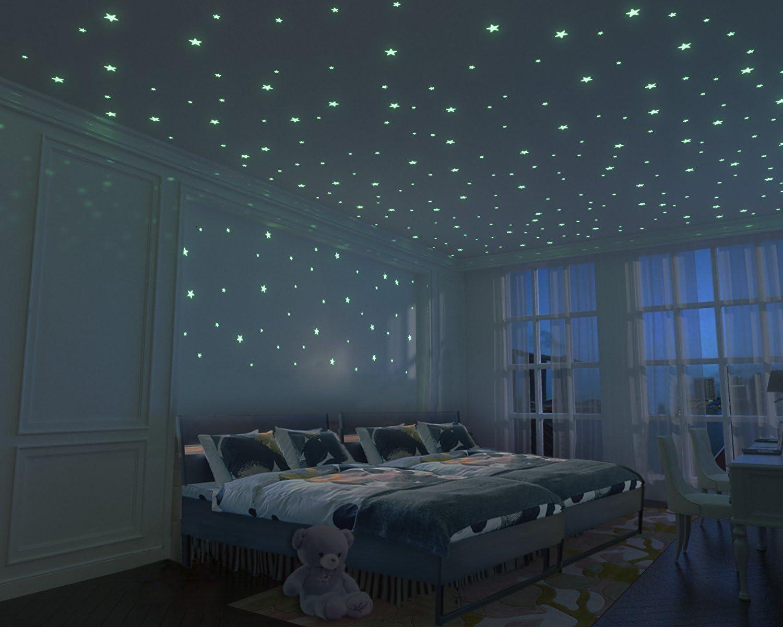 10 Glow In The Dark Musical Instruments Classical Bedroom Baby Nursery Kids Room