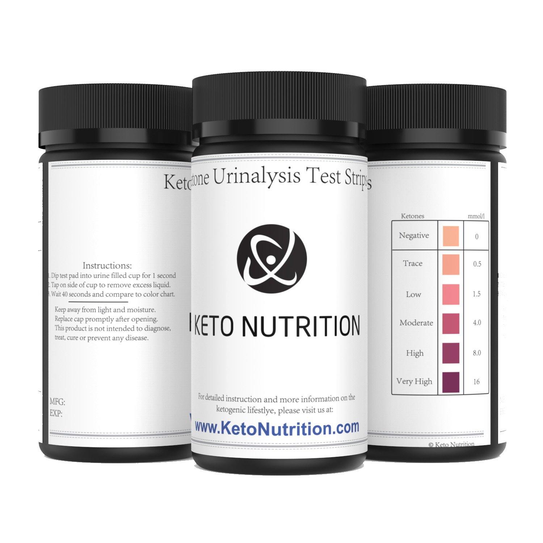 Amazon Ketone Strips By Keto Nutrition Ketogenic Test Strips