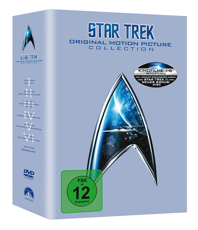 Star Trek - Original Motion Picture Collection 1-6 Alemania DVD ...