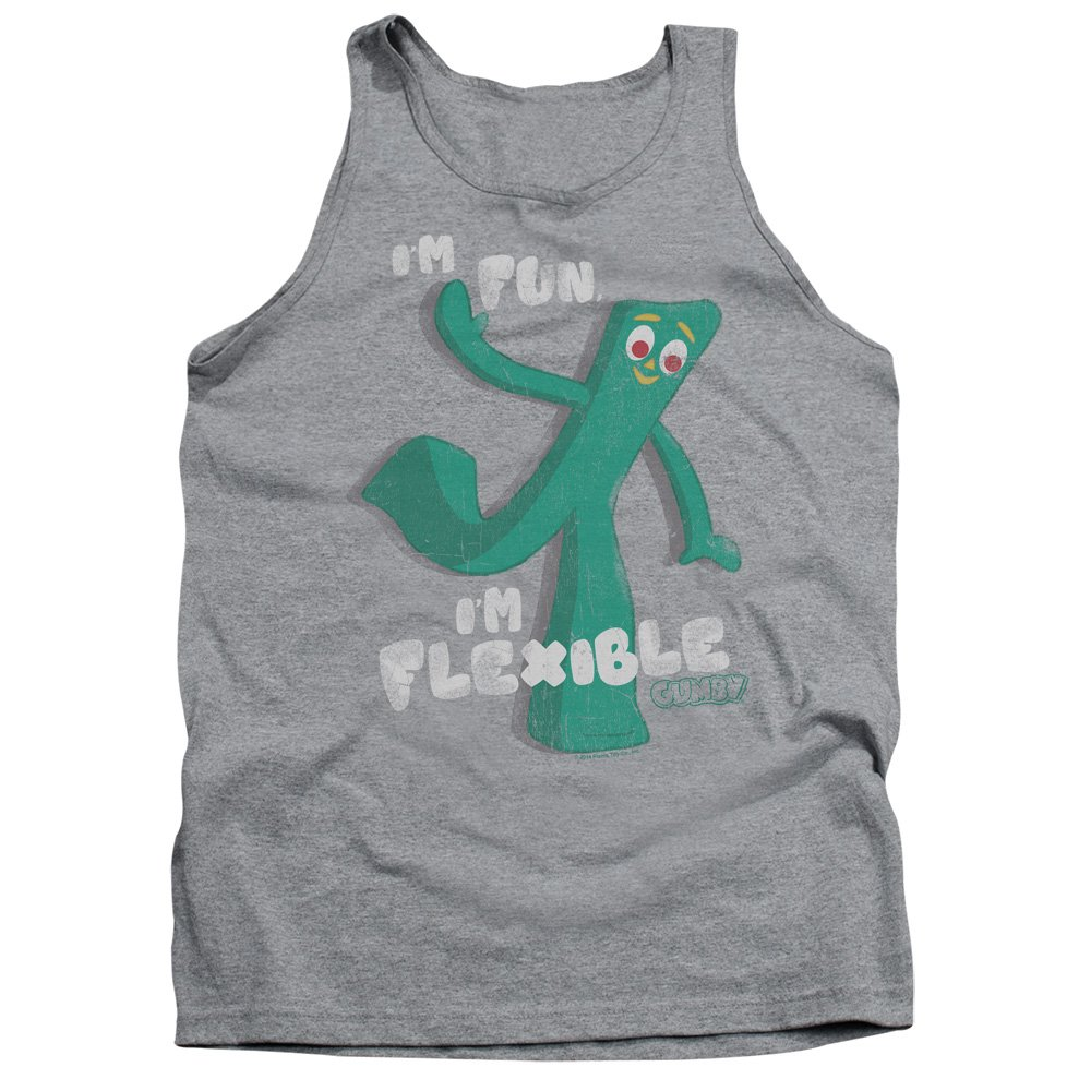 Mens Flex Tank Top Gumby
