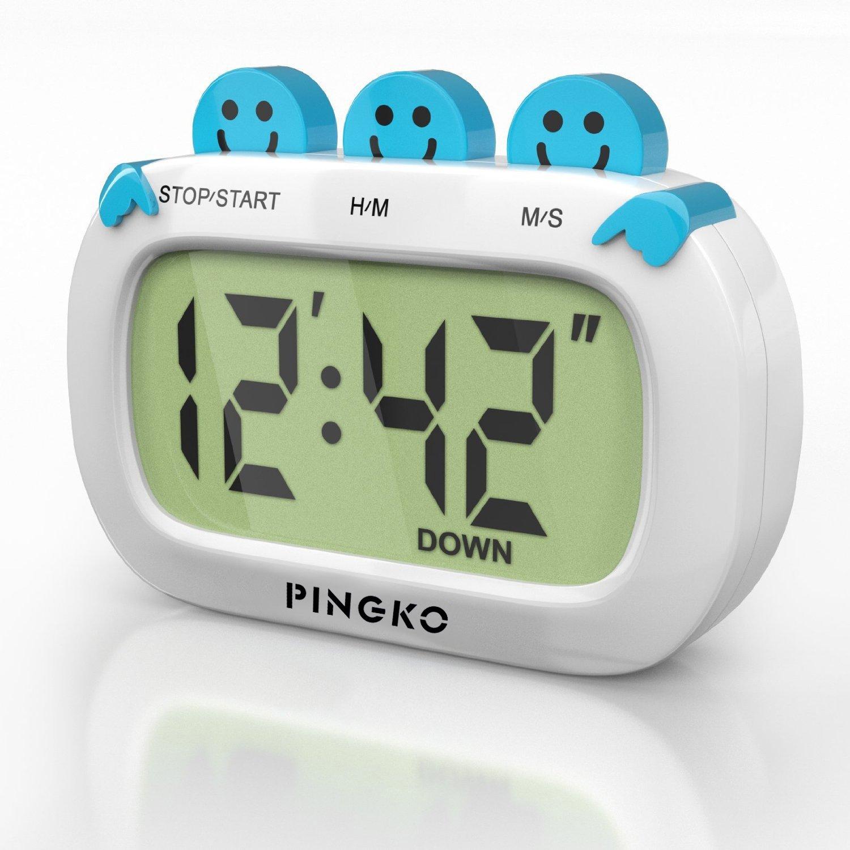 PINGKO Fashion Design Digital Kitchen Countdown Timer with Big ...
