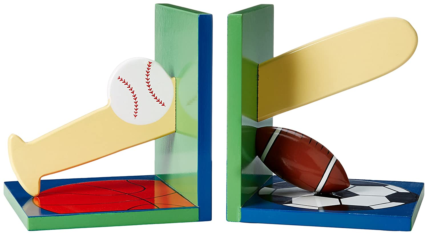 Kidorable Boys' Sports Bookends