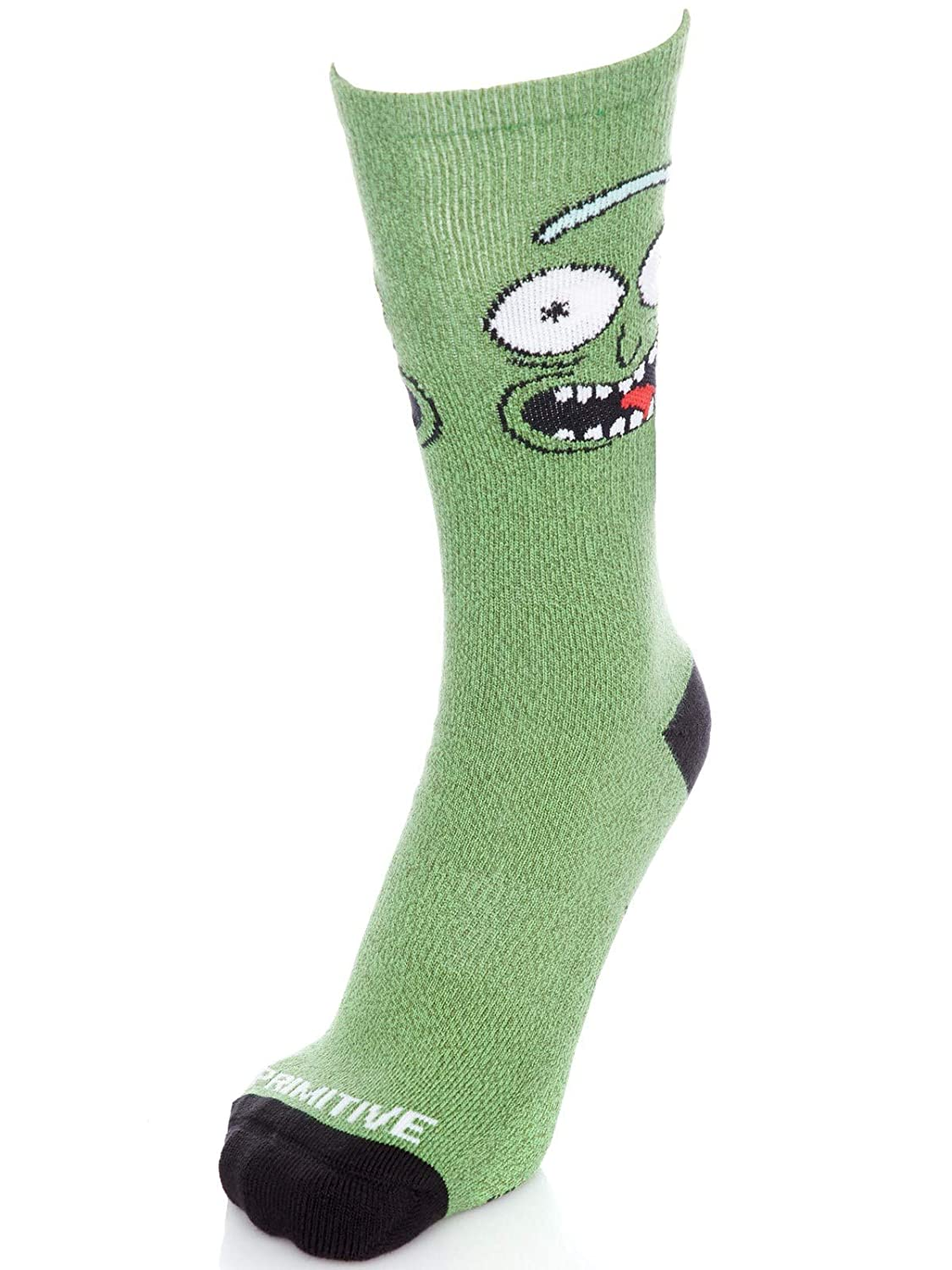 Primitive Calcetines Rick and Morty Collaboration Pickle Rick Verde: Amazon.es: Ropa y accesorios