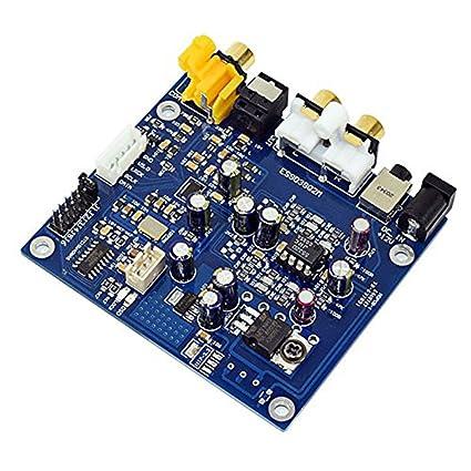 AIYIMA ES9038Q2M - Placa de decodificador DAC I2S DSD óptico Coaxial para Amplificador de Audio,