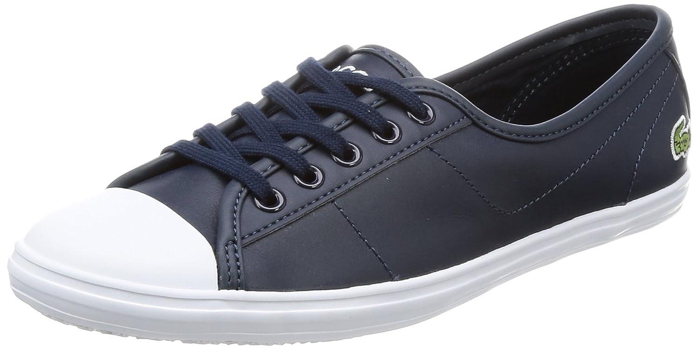 Lacoste Ziane Bl 1 SPW, Zapatillas para Mujer 37 EU|Azul (Nvy)