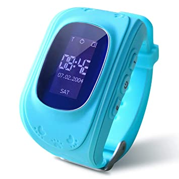 RONSHIN Kids Smart Watch Girls Boys Digital Watch with Anti ...