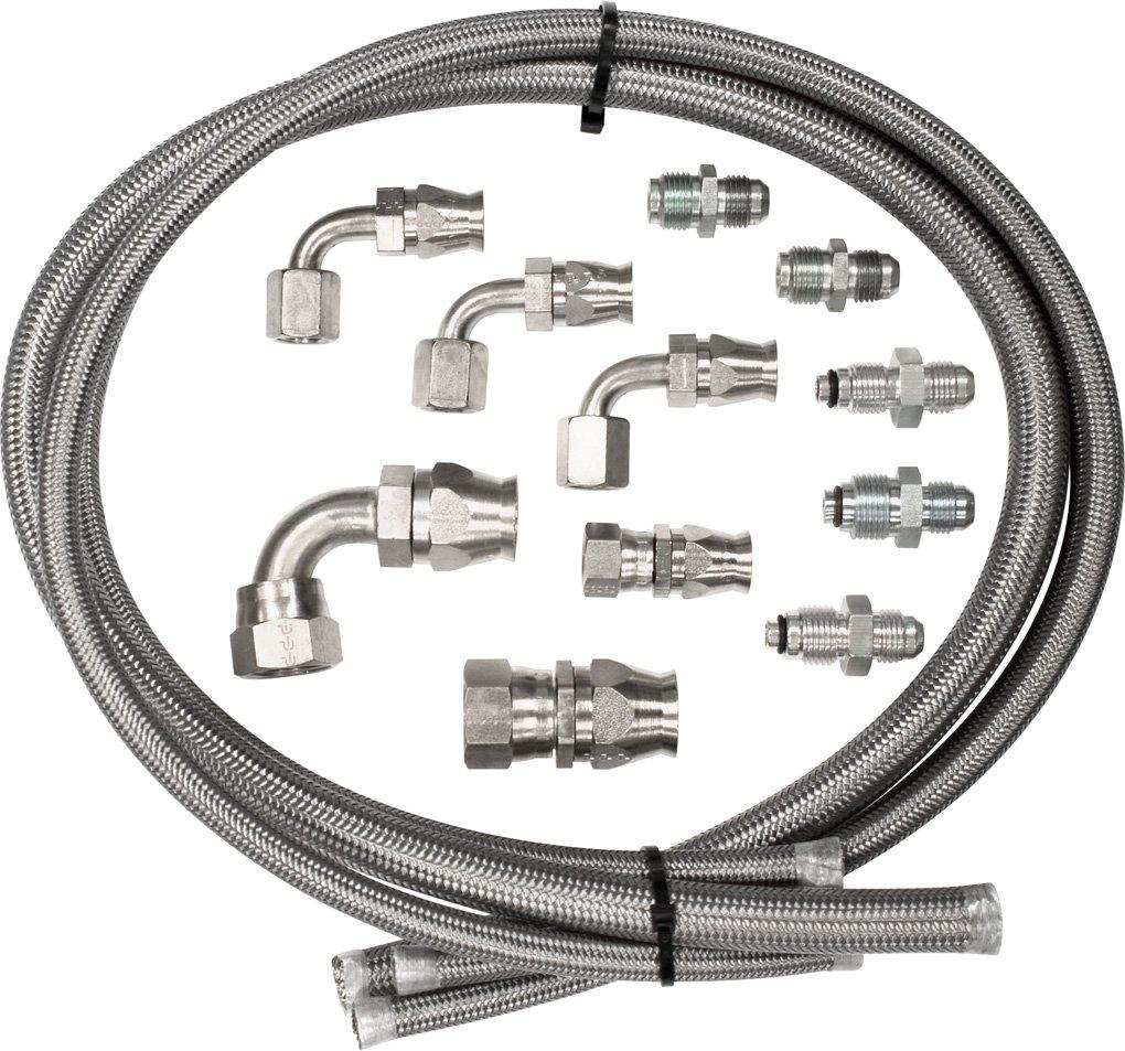 Billet Specialties 77900 Power Steering Hose Kit