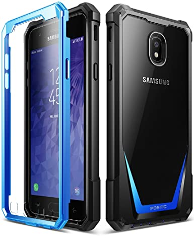 Galaxy J3 2018 Rugged Case, Poetic Guardian Heavy Duty Case with [Built-in-Screen Protector] for Samsung Galaxy J3 2018/J3 Star/J3 Orbit/J3 V 3rd ...
