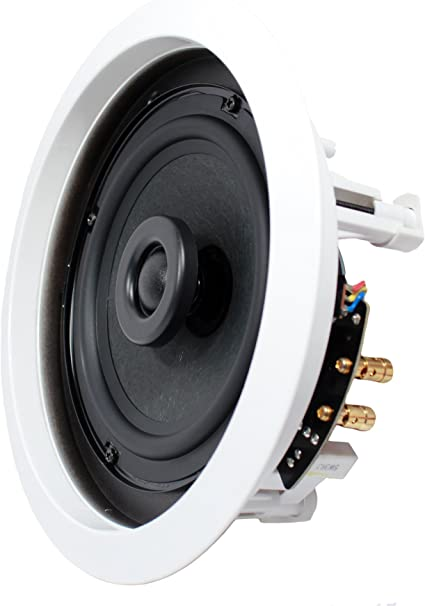 """6/"""" 80W 2 Way In Wall In-Ceiling Speaker Single Stereo Audio Sound Home Theater"""
